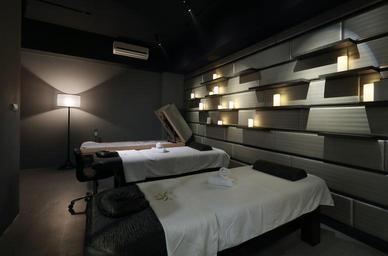 Interiér masážního salónu