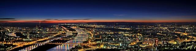panoráma Vídně