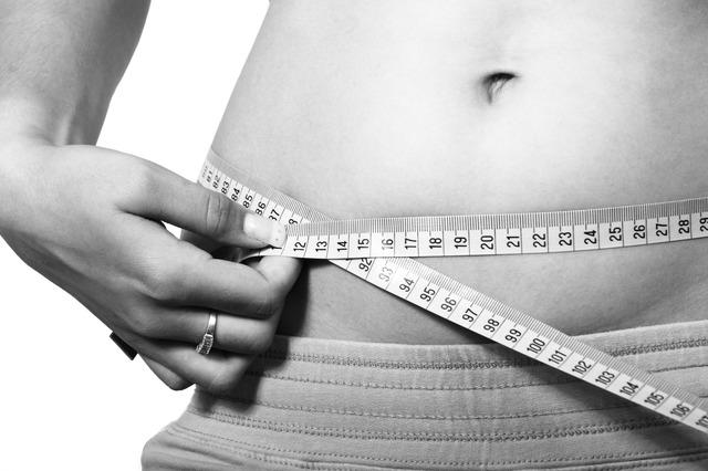 měření břicha